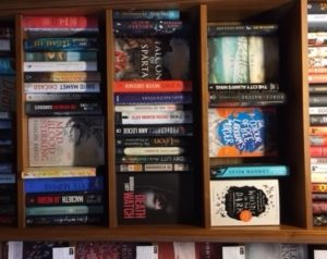 Death Watch on the bookshelves at White Horse Book Shop